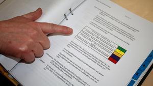 Alla rapporter färgkodas - från grönt till rött. Beroende på färg genomförs insatser på kort eller lång sikt för att både angripa problemet och förebygga framtida problem.