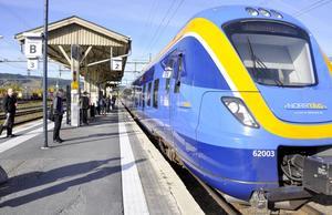 Bara var tredje tåg kom i tid till tågstationen i Östersund i juli. Den extrema värmen i landet var en av orsakerna till punktlighetsproblemen.