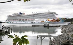 Norwegian Getaway gör sitt första besök i år i Nynäshamn den 14 juni.