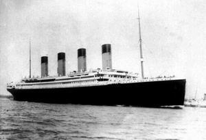 Förlisningen av Titanic var en av mest omtalade katastroferna under 1900-talet.
