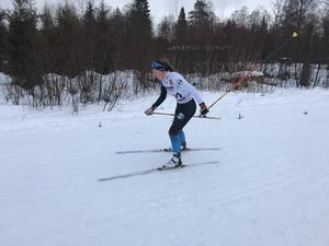 Wilma Karlsson, Östersunds SK tävlade i D15. Foto: Ann Ragnvaldsson
