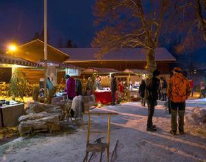 Julmarknaden i Hedby tar avstamp i det nära, gedigna och genuina. FOTO: ANNKIE HASSELKRANTZ