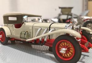 Den här skönheten, Mercedes 680 S 1927, finns att se på kulturhuset hela sommaren.