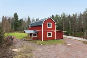 På åttonde plats på Klicktoppen kom denna villa i Idkerberget i Borlänge kommun. Foto: Patrik Persson