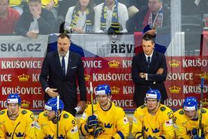 Rikard Grönborg är den stora anledningen till att Tre Kronor är attraktivt igen för de riktigt bra svenska NHL-spelarna.Bild: Ludvig Thunman/Bildbyrån.