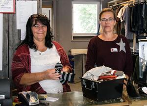 Carina Jonsson och Maria Karlsson hoppas på att den nya lokalen gör att de får ännu fler kunder.