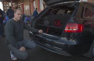 Daniel Weimann har byggt bilar i åtta år. Nu testade han att vara med på en ljudtävling för första gången.