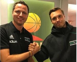 Bernat Elias (vänster) är Kings nya assisterande tränare. Bild: SBBK