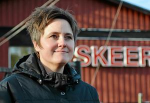 Anna-Karin Bengtar anordnar helgens MS-Gala som lockar många artister. Foto: Tove-Lina Öhrn.