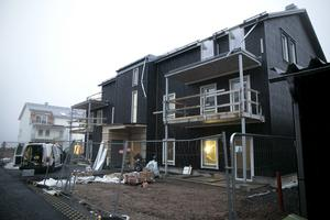 Den 20 december ska det här huset vara färdigt för inflyttning.