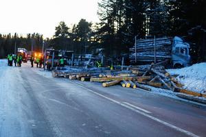 Trafikolyckan med forbönderna inträffade på E 45 söder om Brunflo för drygt en månad sedan, den 6 december.