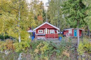 Detta fritidshus på Hagenvägen i Ludvika kommun kom på nionde plats. Foto: Carina Heed