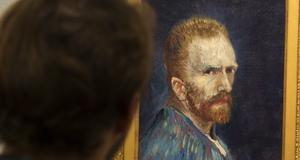 Självporträtt av Vincent van Gogh. Bild: Ryan Remiorz/AP Photo