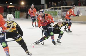 Christoffer Fagerström, bäst i Bollnäs, tände poänghoppet med sin sena reducering till 4–5. Men då hade Broberg en replik kvar i derbyt på Sävstaås.