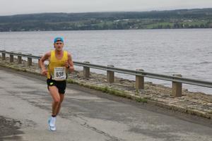 Johan Lantz, Ockelbomaffian, stod för en ny kanontid när han sprang in på 31.47.
