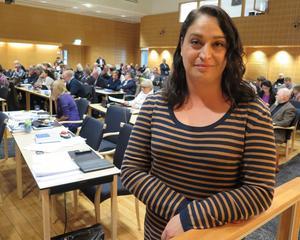 Rachel De Basso (S), regionråd i Region Jönköpings län med ansvar för hälso- och sjukvård.