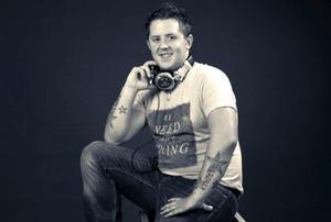 Discjockey Christian Redén spelar gärna på bland annat Gillet 6. Foto: Privat
