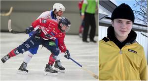 Jesper Granqvist har spelat i elitserien, i P20 och i P18 med Edsbyn den här säsongen – samt gjort två VM-turneringar.