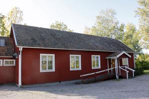 Bygdegården i Torpa är samlingsplats vid tisdagens trygghetsvandring.