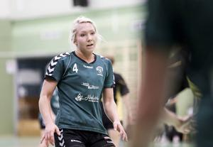 Mathilda Larsson blir allt vassare som vänsternia i Alfta med effektiva skott.
