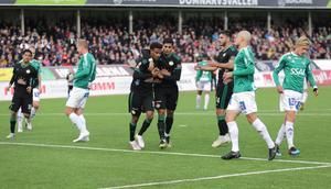 Förre Bragespelaren Joseph Ceesay gjorde Dalkurds enda mål.