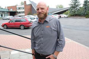 – Ni är mer än välkomna in i transportbranschen, säger Martin Johansson vid Maserfrakt, till deltagarna i Dubbelt upp.