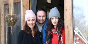 Sara Edberg, Sebastian Edberg och Cecilia Säverman ser fram emot premiären på Norrtelje Brenneri den 21 februari.