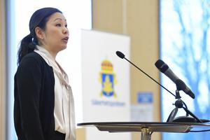 Säpos chefsanalytiker Ahn-Za Hagström. Foto: TT