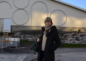 Konstverket är skapat av Catrin Andersson.