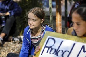 Greta Thunberg. Foto: Adam Fondren/Rapid City Journal