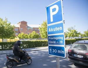 På Visby lasarett finns i normalläget fem intensivvårdsplatser.