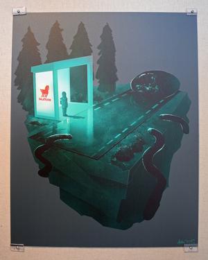 """Sista kvällsbussen"" av Anton Jonsson."