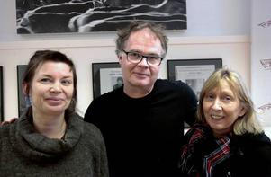 Sissel M Bergh, Frode Fjellheim och Ada Einmo Jürgensen har jobbat fram utställningen Dalvedh som öppnar på Gaaltije.