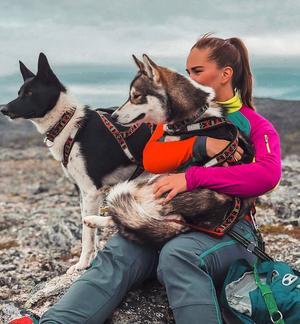 Lotte Halvorsen är teamets norska medlem, och bor i Hammerfest längst upp i norr. Foto: Privat