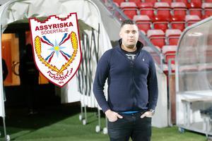 Klubbchefen Delmon Haffo är fast besluten om att Assyriska FF ska tillbaka till eliten, där de hör hemma.