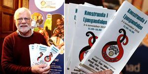 Bo Bergman ser fram emot den åttonde upplagan av Ljungandalens konstrunda, som åter slår rekord i antal deltagande konstnärer.