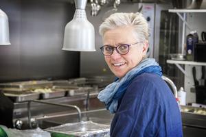Margareta Englund, programsamordnare för restaurangprogrammet i Bollnäs.
