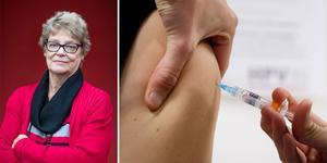 """""""Senare forskning har visat att flera cancerformer som även pojkar/män drabbas av, såsom anal-, svalg- och peniscancer, är orsakade av HPV"""" skriver bland andra Katarina Johansson, oberoende rådgivare cancerpatientfrågor. Foto: André Loisted/Heiko Junge/TT/montage"""