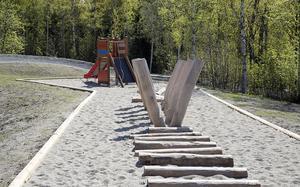 Exempel på en aktivitetsbana som skulle kunna byggas vid Hörnsjön. Bild: Privat