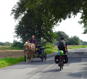 Tommy cyklar i området kring Torrevieja.Foto: Privat