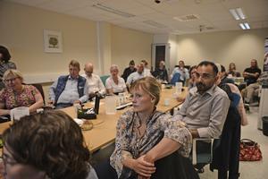På mötet om vårdsamarbete fanns deltagare från Sverige, Norge, Finland, Åland och Island.