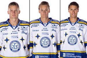 Martin Karlsson, David Rundqvist och Jon Knuts. Foto: Pelle Börjesson/Bildbyrån
