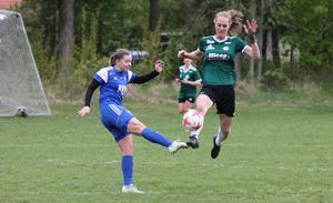 Amanda Karlkvist är en av spelarna som tagit laget från division 4 till division 2. Foto: Romfartuna GIF /arkiv