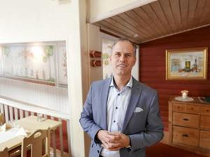 På fredagskvällen utsågs Anders Nygårdh till ny ordförande för Leksands Sparbank.