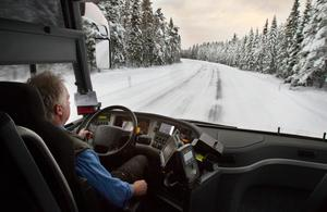 När det handlar om eventuell busstrafik på sträckan Östersund-Mora vill politiker i flera berörda kommuner i så fall begränsa upphandlingstiden till tre år. Foto:Ulrika Andersson