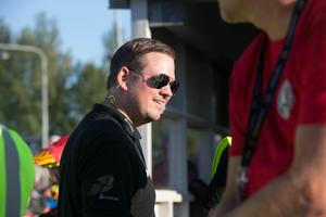 Indianernas lagledare Peter Johansson.