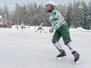 Kajsa laddad för match mot Skutskär.