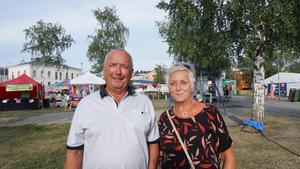 Ulf Kjelsson och Christine Törnlund.
