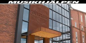 Steam hotel anordnar en auktion till förmån för Musikhjälpen.