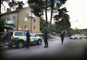 I juni sköts en man med tre skott på Drottninggatan.